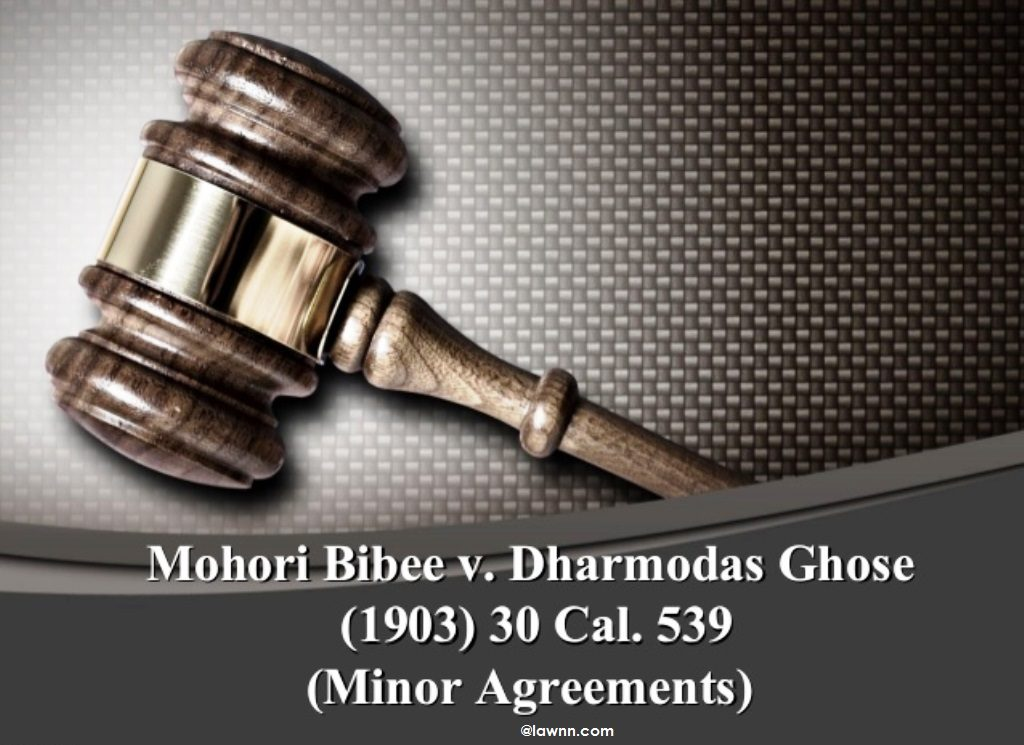 MOHIRI BIVEE VS DHARMODAS GHOSH - Indian Kanoon