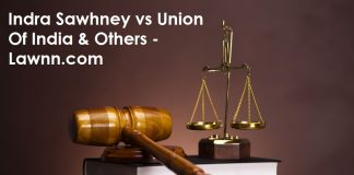 Indra Sawhney vs Union Of India & Others - Lawnn.com