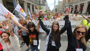 Poland Protest against abortion ban