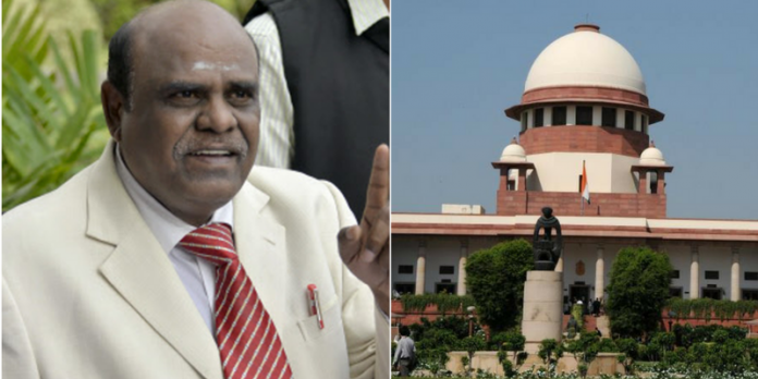 justice karnan sentenced 6 months jail by supreme court of india