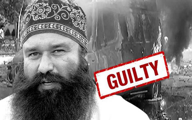 Dera chief Gurmeet Ram Rahim Singh convicted for rape, violent outbreak by Dera followers