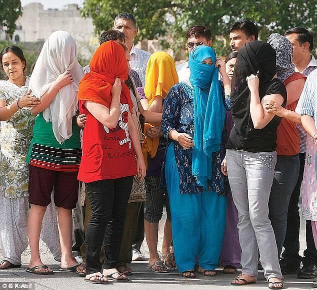 Women Disciples Of Raided Delhi Ashram Demand Return of Girls