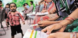 SC Asks Govt. To Resolve Aadhar Authentication Issue For Homeless