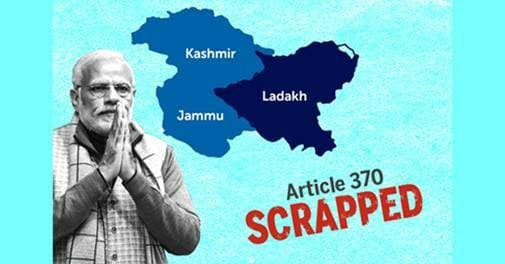 Another Swift Decision After Demonetization - Articles 370 and 35A Scrapping Creates History