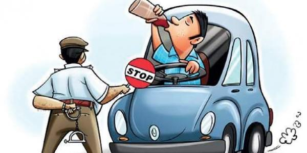 New Motor Vehicles Act Out- Drunk driving can now cost you Rs.10,000
