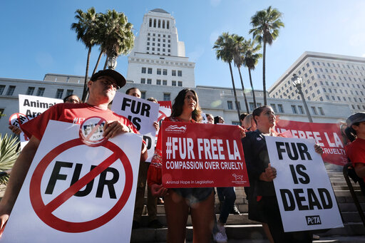 First on the row in USA- California bans Animal Fur Products