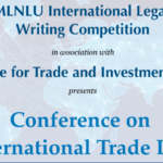 Call for Entries- RMLNLU-CTIL Conference on International Trade Law [February 02, 2020]
