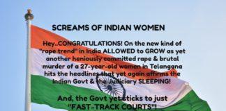Screams of Indian Women- Telangana rape and murder